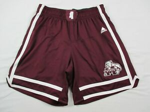 Mississippi State Bulldogs adidas Shorts Men's Maroon Poly Used Multiple Sizes