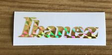 1 x Ibanez Guitar logo Sticker / Decal