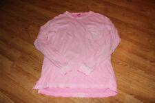 Victoria Secret PINK Long Sleeved Light Pink Shirt with Logo - Medium / EUC