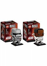 LEGO BrickHeadz FINN #19 & CAPTAIN PHASMA #20 41485 41486 IN HAND !! Star Wars