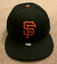 Johnny Cueto MLB Holo Game Used Hat Cap 2016 San Francisco Giants
