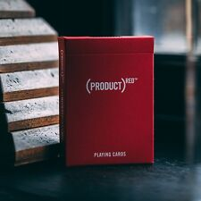 Theory 11 Product Red Playing Cards - Charity Luxury Card Deck - US Made Cards