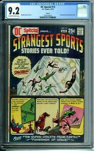 DC SPECIAL 13 CGC 9.2 CIRCLE 8 PEDIGREE COPY1974 STRANGEST SPORTS STORIES