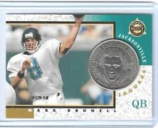 RARE 1997 PINNACLE MINT MARK BRUNELL SILVER NICKEL PROOF /250 COIN & CARD #3