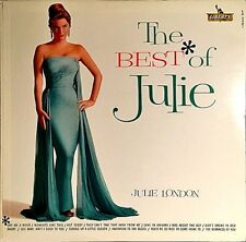 "JULIE LONDON ""THE BEST OF JULIE"" PREMIUM QUALITY USED LP (VG+/VG+)"