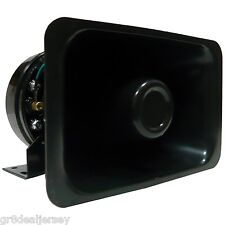 High Output 5 x 8 PA Speaker Car Truck Horn Siren Alarm Public Address System