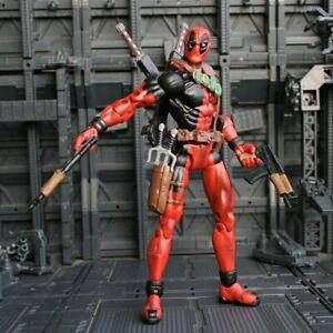 "Toy Biz Marvel Legends Series VI Deadpool 6"" Action Figure Loose Rare"