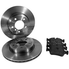 BMW E46 Apec Front Brake Discs 300mm And Pads 02/1998->