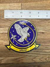 """Vfa-97 Us Navy Strike Fighter Squadron """"Warhawks� Decal Sticker New T-5(Aa)"""
