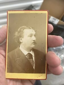 1860's CDV photo Gustave Dore famous French artist