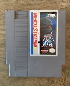 Metal Storm (Metal⚡️Storm) NES Game 1985 Originial Tested and Working CLEAN