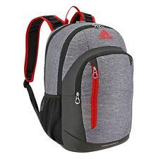 adidas Mission Heather Granite /Scarlet/Black Laptop Backpack - 5140764