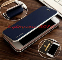 Luxury Flip PU Leather Wallet Card Holder Magnetic Case Cover For Samsung&iPhone