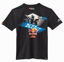 KTM Kini Red Bull Athletic Tee Navy Blue Cotton T-Shirt NEW RRP £29.22!!