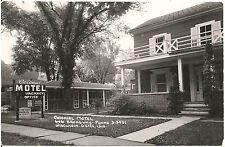 Colonial Motel in Wisconsin Dells WI RP Postcard Roadside