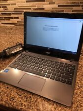 """Acer C720-2103 11.6"""" Chromebook Intel Celeron Dual Core 1.4Ghz 2GB 16GB, Charger"""