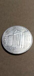 Estonia 2 Krooni 1932  Commemorative Coin Silver Rare