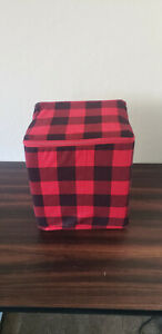 Mainstays Flannel 4-Piece Sheet Set, Size Full/Queen - Red Plaid