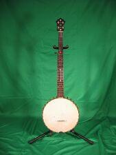 Antique Vintage 1896  SS Stewart Acme Professional 5 String Open Back Banjo USA