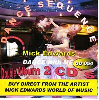 SEQUENCE DANCE ( Dance with me ) Double CD Album by Mick Edwards
