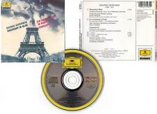"GEORGE GERSHWIN ""Rhapsody In Blue/Un Américain à Paris"" (CD) Masur,Downes 1989"