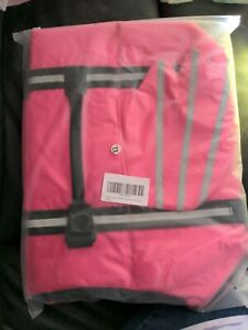 Pink Life Preserver Jacket X-large Dogs 65 - 95 Lbs Water Safety Vest, NIP