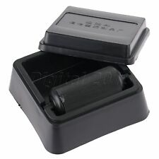 1PC DIY Hand Craft Leather Edge Treatment Oil Box Black Plastic Box Coated Side
