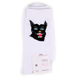 Black Panther Cotton Socks by Circle Of Unity Russian Streetwear Brand