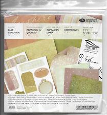 "Creative Memories Album Kit ""Daily Inspiration"" Paper / Photo Mats /Stickers NEW"