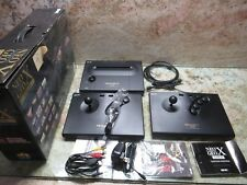 NEO GEO X GOLD CONSOLE NG-001 AES USA VIDEO GAME SYSTEM HAND HELD INCLUDED