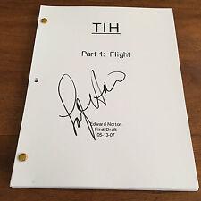 GFA The Incredible Hulk * LOU FERRIGNO * Signed Full Movie Script COA