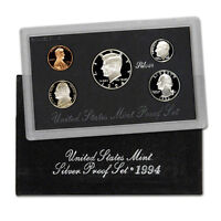 1994-S 90% Silver Proof Set United States Mint Original Government Packaging Box