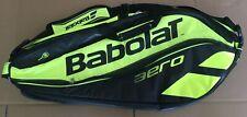 Multi Racquet Yellow & Black Zippered Babolat Pure Aero Tennis Racquet Bag