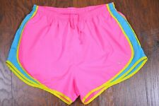 Nike Dri-Fit Tempo Lined Shorts Pink Blue Women's Large L