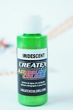 Createx Airbrush Colors 5507 Iridescent Green 2oz. water-based paint