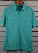 NWT M's Ralph Lauren Black Label, Cotton Jersey Polo. Sz M. $275. Made In Italy.