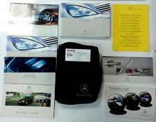 Mercedes-Benz A Class Owners Handbook Manual and Wallet 2001 - 2004 - 5019650