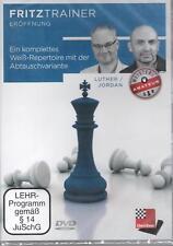 ChessBase Luther Jordan  Ein komplettes Weiß-Repertoire mit der Abtauschvariante