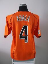 ROBERTO AYALA #4 VALENCIA AWAY FOOTBALL SHIRT JERSEY 2004/05 (L)