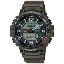 Casio Collection WSC-1250H-3AVEF Resin Fishing Timer 100m WR Strap Watch