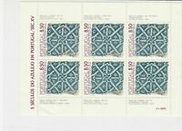 Portugal The National Museum, Lisbon Mint Never Hinged Stamps Sheet ref R 16585