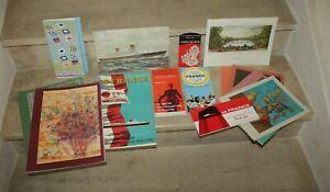 Lot de documents Paquebot France 1963