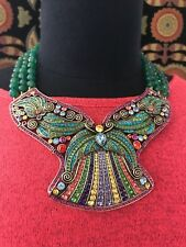 Drop Necklace Sold Out $399 Wow! Heidi Daus Ornamental Elegance Beaded Crystal