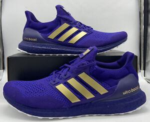 Adidas Ultra Boost University of Washington Huskies Purple Mens Running Sneakers