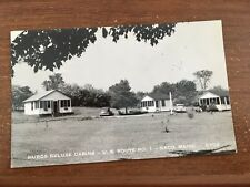 Saco ME HURD'S DELUXE  Cabins  RPPC Postcard