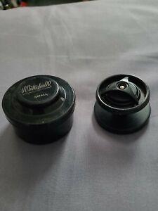 Mitchell vintage spare spool in storage case l@@k