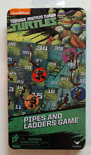 New! Teenage Mutant Ninja Turtles Pipes & Ladders Game Magnetic Game on the Go