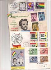 GHANA-12 covers(1950s/60s) mainly to U.S. plus Hong Kong & U.K.