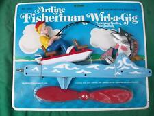 Indiana Find-Fisherman Wiri-A-Gig Artline - Lake House Decor