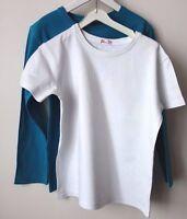 LOT de 3 Beau T-shirt DPAM blanc bleu + Michel Klein garçon 10 ans !